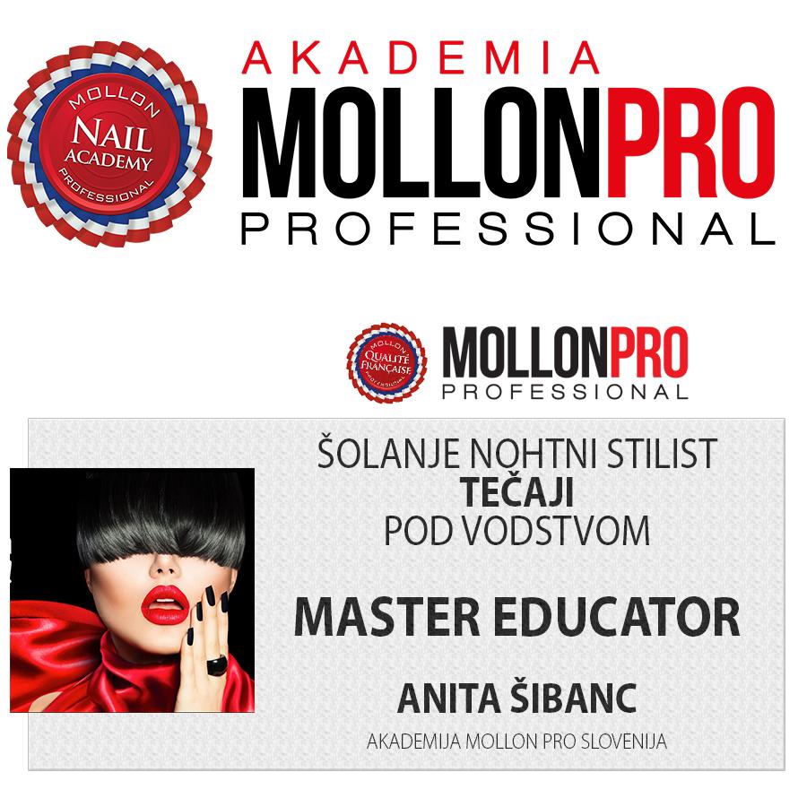Akademija MollonPro - tečaj za nohte