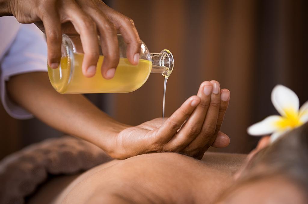 masažna olja